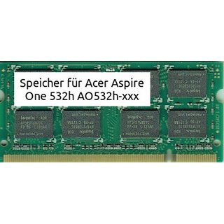 2Gb Acer Aspire One 532h AO532h-xxx DDR2-6400
