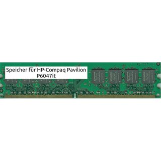 8Gb 4x 2Gb Ram HP-Compaq Pavilion P6047it DDR2 800Mhz Pc2-6400