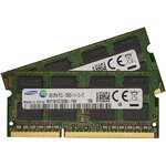 16Gb 2 x 8Gb 1600MHz 204Pin Ram Speicher Apple Mac Book...